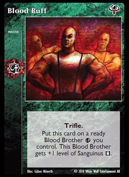 Card preview - Blood Buff