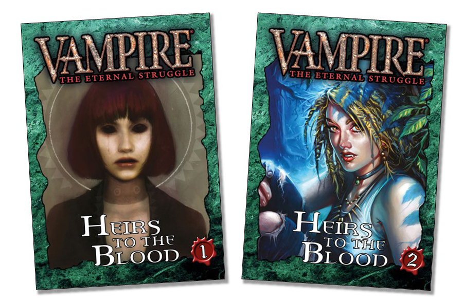Heirs to the Blood reprint bundles 1 and 2