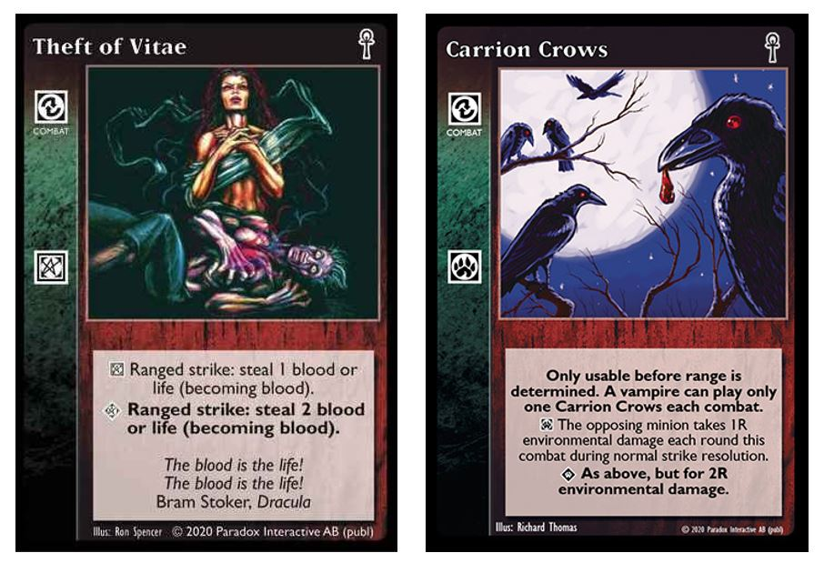 Theft of Vitae + Carrion Crows
